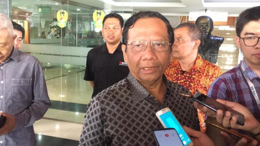 Menko Polhukam Mahfud MD. (Foto: PMJ/ Dok Net)