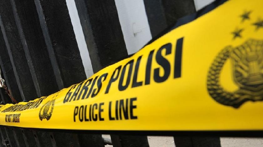 Garis polisi penangkapan. (Foto: PMJ/ Dok Net)