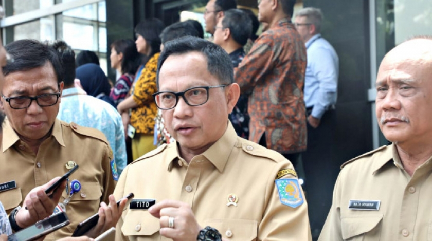 Menteri Dalam Negeri, Tito Karnavian. (Foto: PMJ News/Kemendagri).