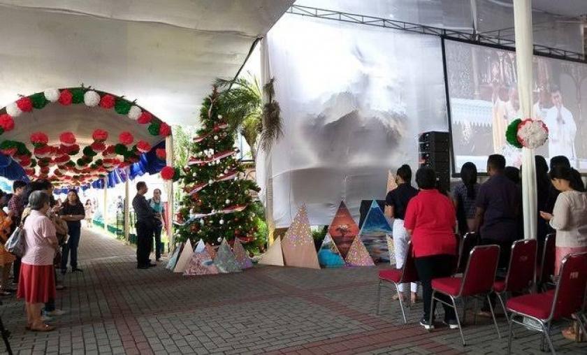 Perayaan Natal. (Foto: Dok Net).