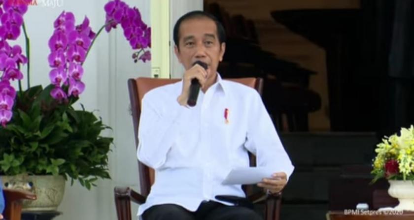Presiden Jokowi. (Foto: Sekretariat Presiden ).
