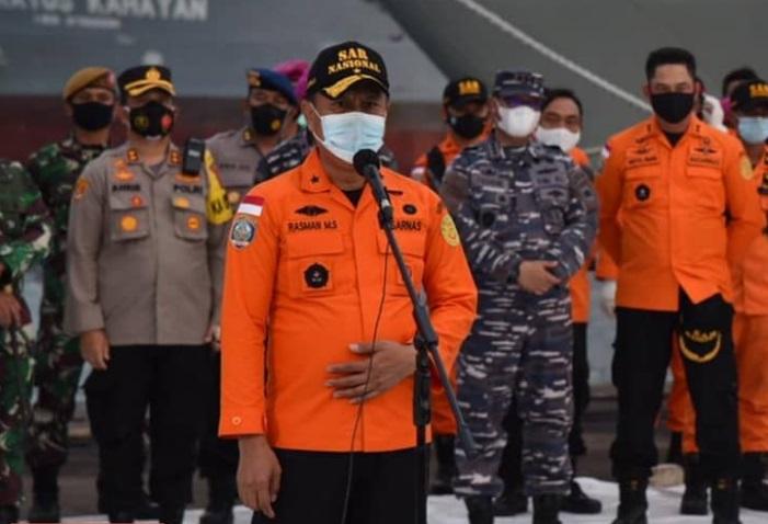 Tim SAR gabungan akan memperluas area pemantauan udara terkait jatuhnya pesawat Sriwijaya Air SJ-182. (Foto: PMJ News/Instagram @sar_nasional).