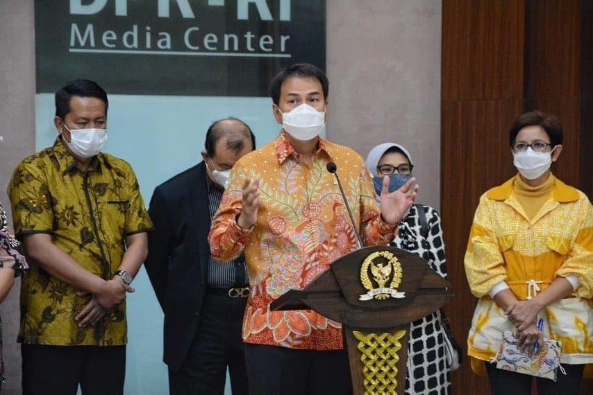 Wakil Ketua DPR Azis Syamsuddin. (Foto: Dok Net)