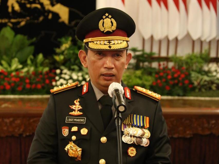 Kapolri Jenderal Listyo Sigit Prabowo. (Foto : Dok PMJ).