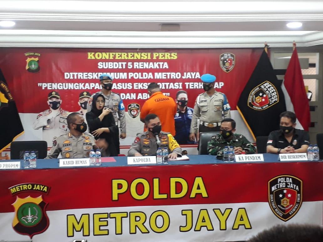 Kapolda Metro Jaya Irjen Pol Fadil Imran berikan keterangan. (Foto ;PMJ/Yen).