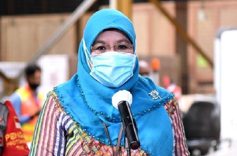 Juru Bicara Vaksinasi Covid-19 dari Kemenkes, Siti Nadia Tarmidzi (Foto: PMJ News/Instagram)