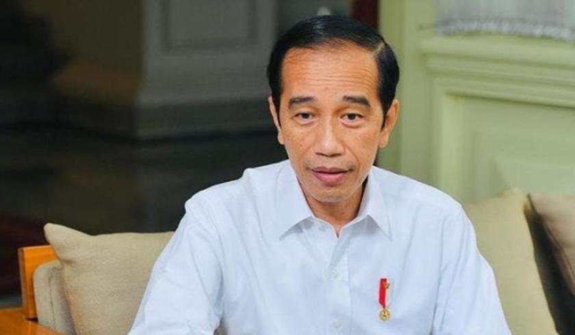Presiden Joko Widodo (Jokowi) saat memberikan pernyataan pers. (Foto: PMJ News/Instagram @jokowi).