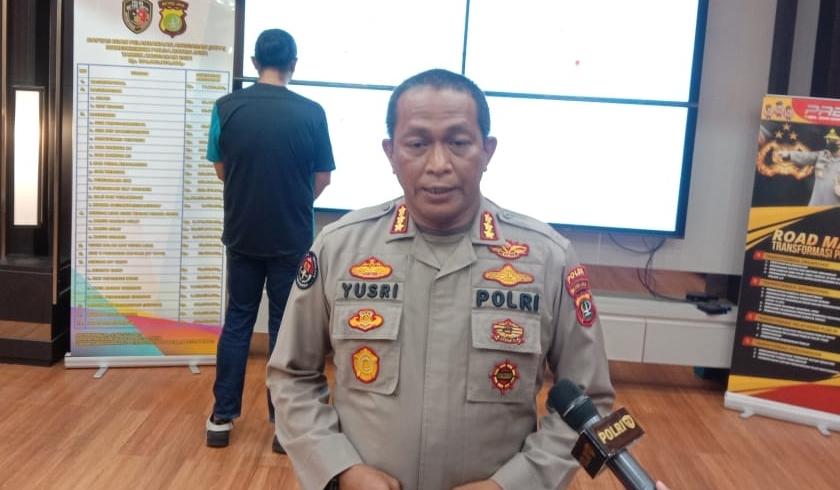 Kanid Humas Polda Metro Jaya, yusri Yunus saat memberikan keterangan pers. (Foto: PMJ News).