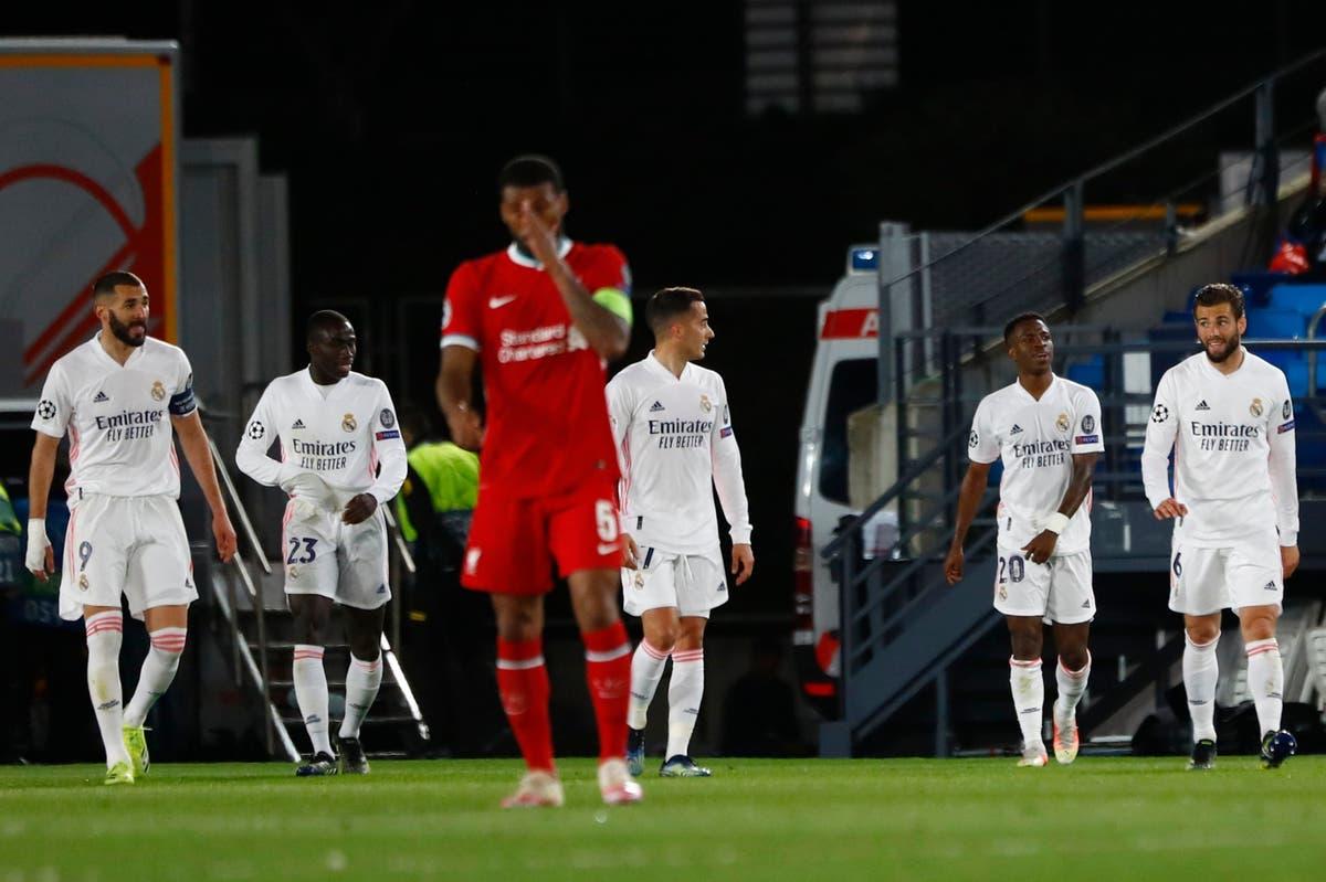 Liverpool Vs Real Madrid. (Foto: Dok Net)