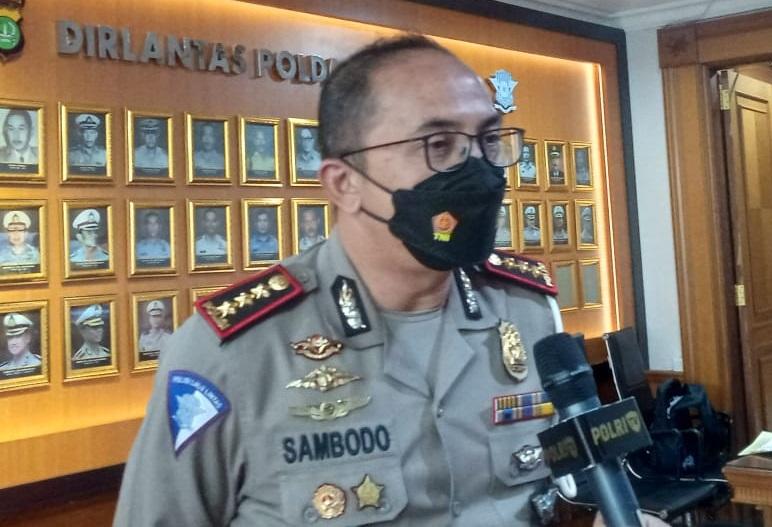 Dirlantas Polda Metro Jaya, Sambodo Purnomo Yogo. (Foto: PMJ News/Yeni).