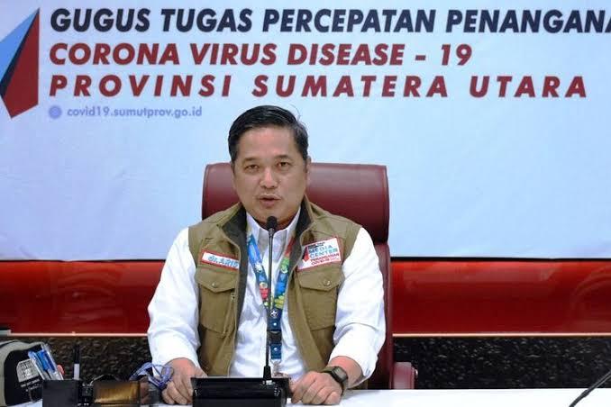 Juru Bicara Satuan Tugas Penanganan Covid-19 Sumatera Utara dr Aris Yudhariansyah. (Foto: Dok Net)