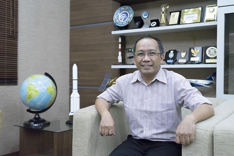 Kepala Lapan Thomas Djamaluddin. (Foto: Dok Net)