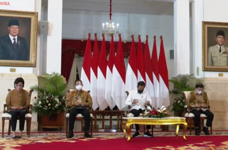 Presiden Jokowi saat menyampaikan sambutan di Musyawarah Perencanaan Pembangunan Nasional. (Foto: PMJ News/YouTube Setpres).