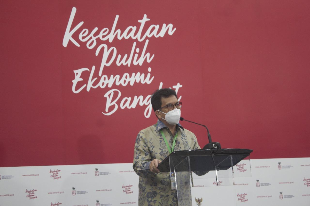 Ketua Komnas KIPI Prof Hindra Irawan Satari. (Foto: Covid-19).
