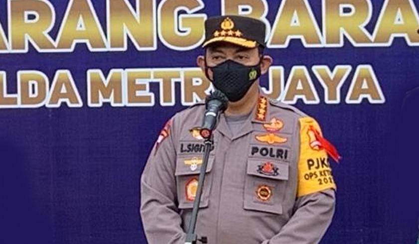 Kapolri Jenderal Listyo Sigit Prabowo saat memberikan keterangan. (Foto: PMJ News).