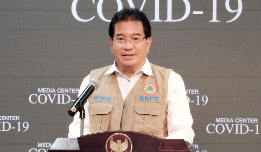 Juru Bicara Pemerintah Penanganan Covid-19, Wiku Adisasmito. (Foto: PMJ News/BNPB).