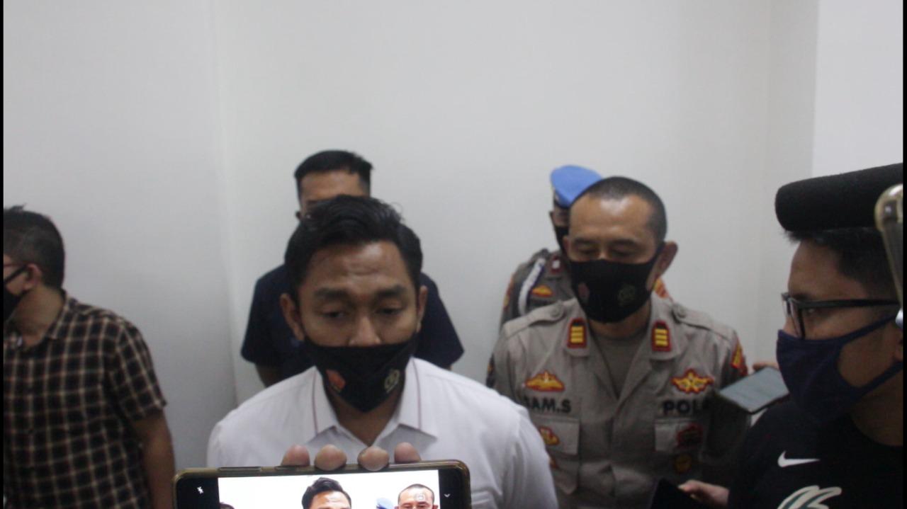 Keterangan jajaran Reskrim Polres Jakpus. (Foto: PMJ News)