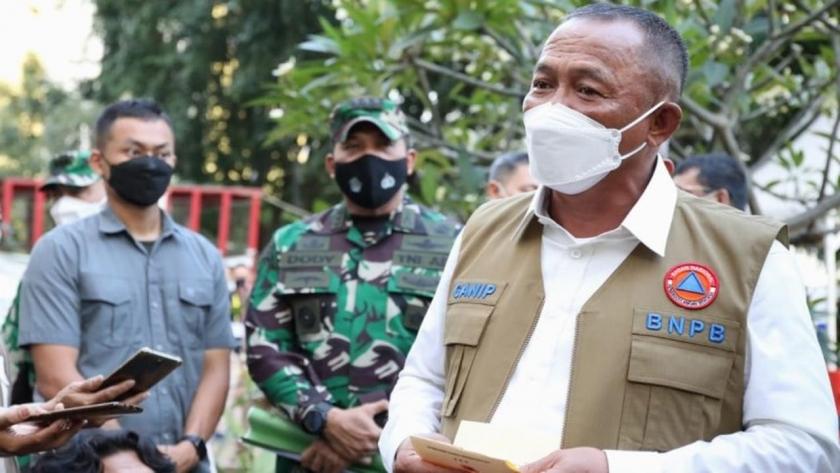 Kepala Badan Nasional Penanggulangan Bencana (BNPB), Ganip Warsito. (Foto : PMJ News/Tim Komunikasi Satgas Covid-19).