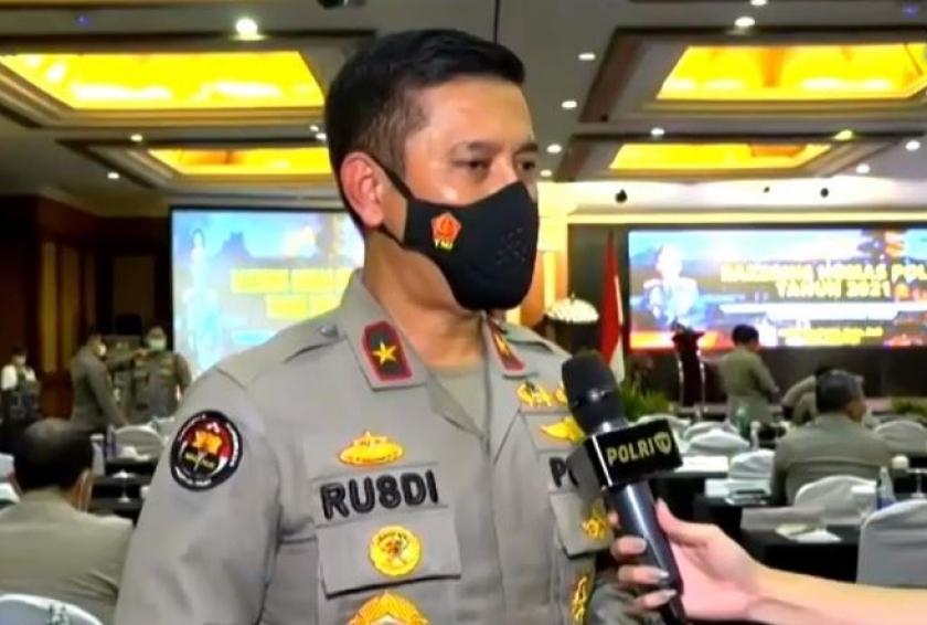 Karo Penmas Divisi Humas Polri, Brigjen Pol Rusdi Hartono. (Foto: PMJ News).