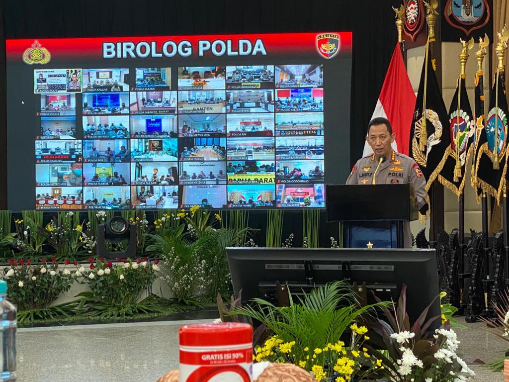 Kapolri Jenderal Listyo Sigit membuka acara secara resmi. (Foto : Dok PMJ).