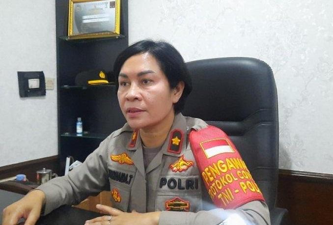 Kapolsek Ciputat Timur, Kompol Jun Nurhaida saat memnerikan keterangan. (Foto: PMJ News/Istimewa).