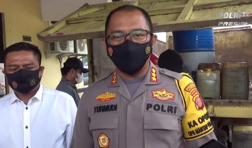 Kapolres Kota Balikpapan, Kombes Pol Turmudi. (Foto: PMJ News/Polri TV).