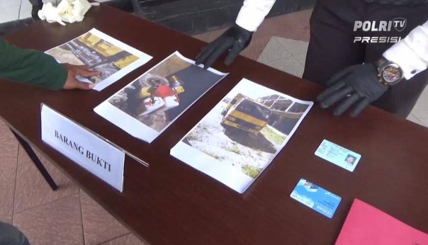 Barang bukti kasus penimbunan solar bersubsidi yang amankan Polres Kota Balikpapan. (Foto: PMJ News).