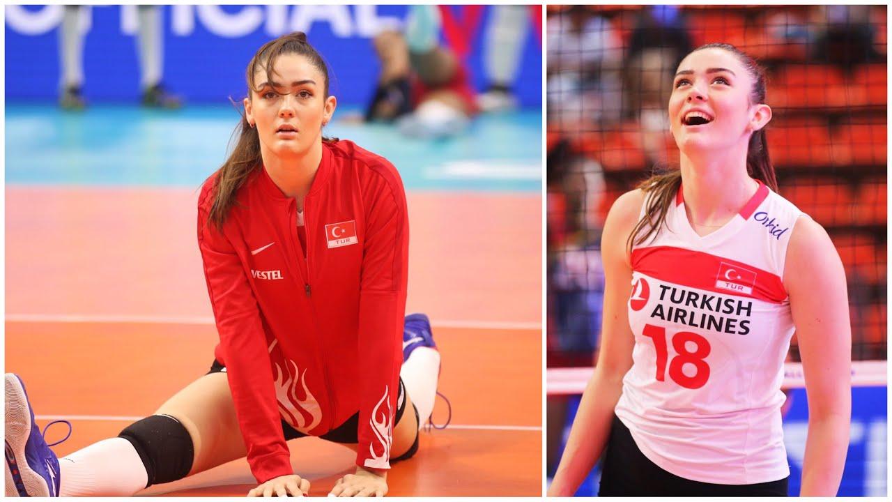 Atlet voli putri cantik asal Turki Zehra Gunes. (Foto: Dok Net)