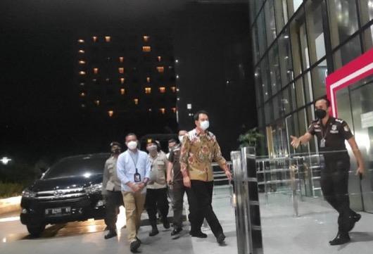 Wakil Ketua DPR Azis Syamsuddin ditangkap KPK. (Foto: Istimewa).