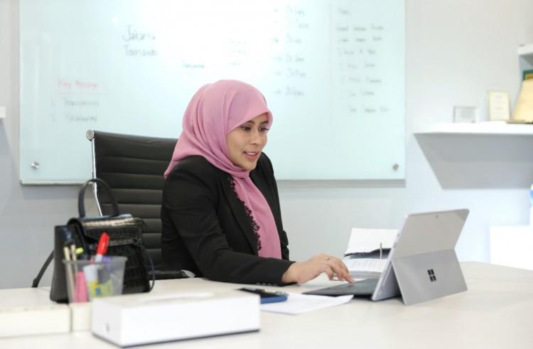 Direktur Utama PT Jaktour Novita Dewi. (Foto: Dok Net)