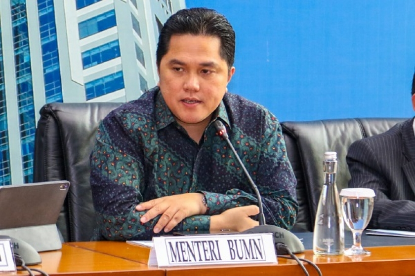 Menteri BUMN Erick Thohir New Normal